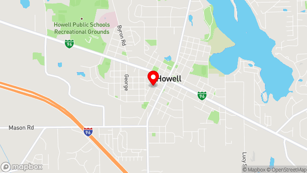 Google Map of 227 West Washington Street, Powell, MI 49855