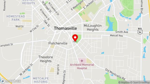 Google Map of 403 South Broad Street, Thomasville, GA 31792