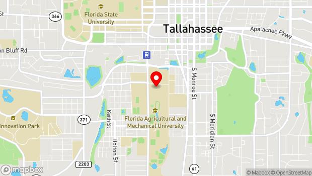 Google Map of 515 Orr Drive, Tallahassee, FL 32307
