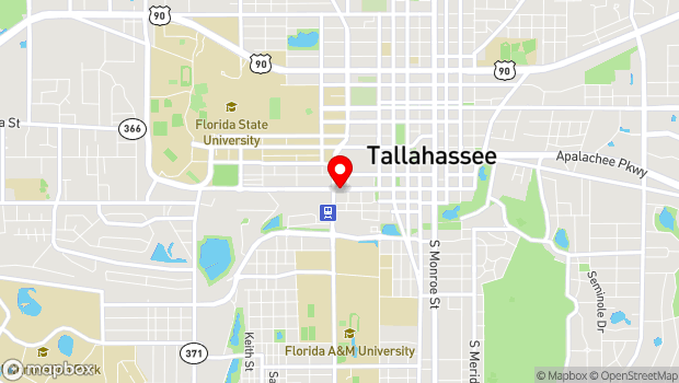Google Map of 517 W. Gaines St, Tallahassee, FL 32301