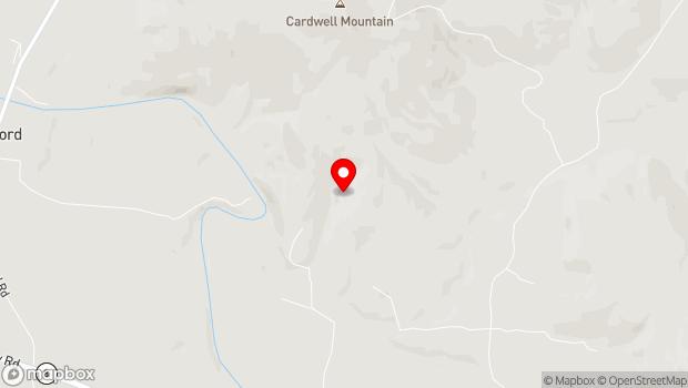 Google Map of 1437 Cumberland Caverns Road, McMinnville, TN 37110