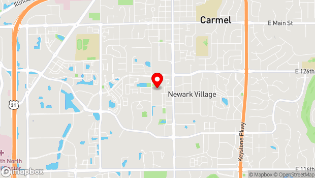 Google Map of 4 Center Green , Carmel, IN 46032