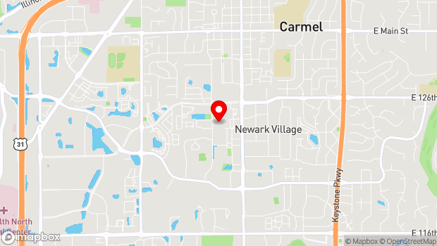 Google Map of 3 Center Green, Carmel, IN 46032