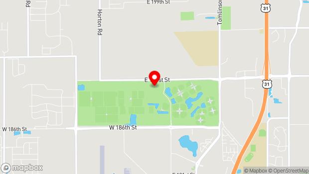 Google Map of 19000 Grand Park Boulevard, Westfield, IN 46074