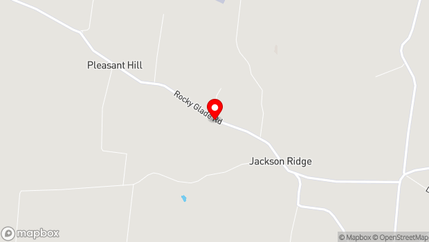 Google Map of 4374 Rocky Glade Road, Eagleville, TN 37060