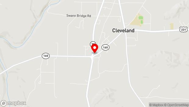 Google Map of 36320 Alabama Highwy 79, Cleveland, AL 35049