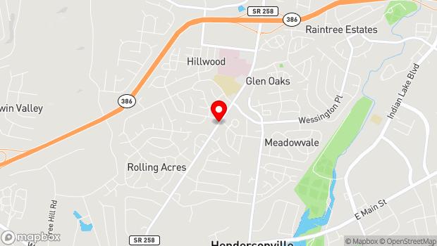 Google Map of 257 New Shackle Island Road, Hendersonville, TN 37075