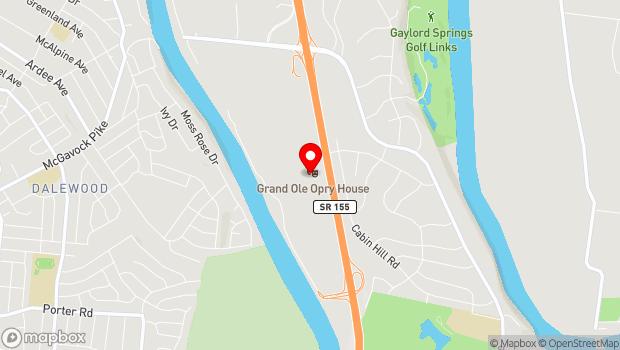 Google Map of 2804 Opryland Drive, Nashville, TN 37214