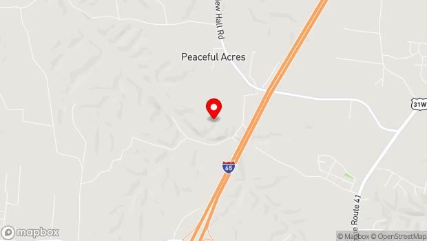 Google Map of 7526 Swift Road, Greenbrier, TN 37073