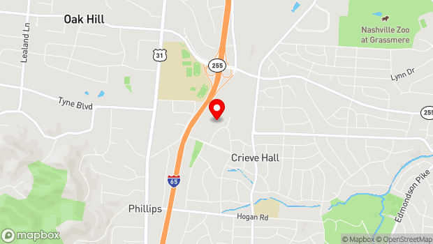 Google Map of 636 Farrell Parkway, Nashville, TN 37220
