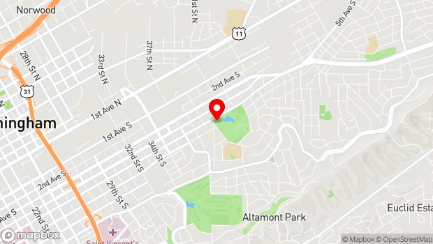 Google Map of 509 40th St. S , Birmingham, Alabama 35222