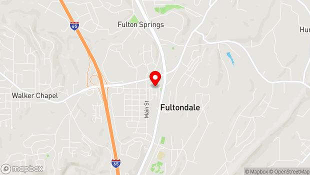 Google Map of 1024 Old Walker Chapel Road, Fultondale, AL 35068