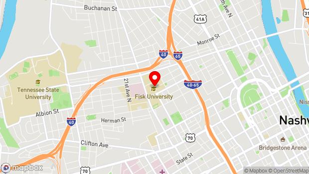 Google Map of 1000 17th Ave North, Nashville, TN 37208