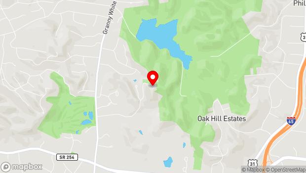 Google Map of 1000 Oman Drive, Brentwood, TN 37027