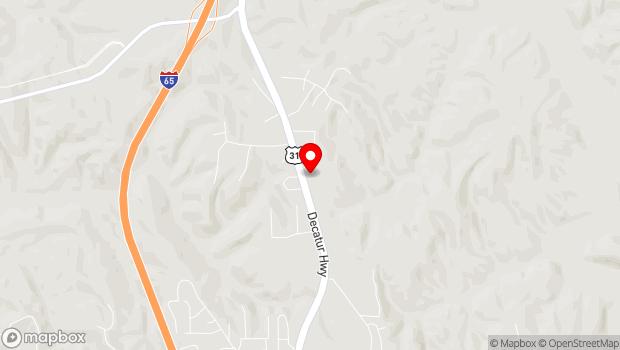 Google Map of 3086 Decatur Hwy, Gardendale, AL 35071