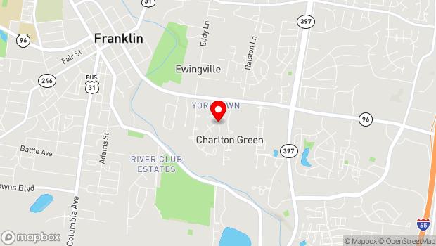 Google Map of 4525 Graystone Quarry Lane, Franklin, TN 37064