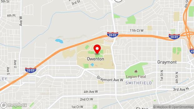 Google Map of 900 Arkadelphia Road, Birmingham, AL 35254