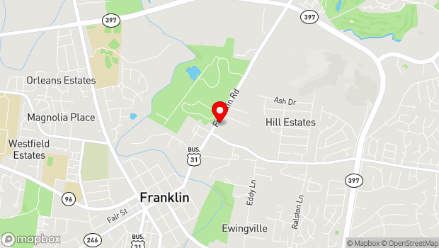 Google Map of 230 Franklin Road, Franklin, TN 37064