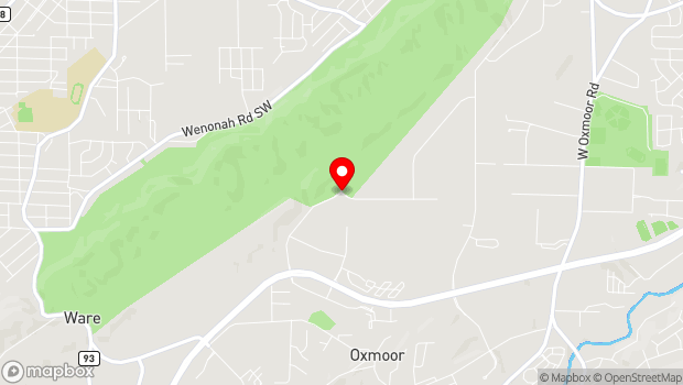 Google Map of 2011 Frankfurt Drive , Birmingham, AL 35211