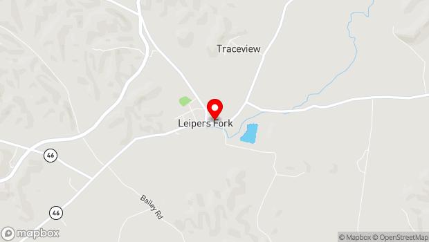 Google Map of 4142 Old Hillsboro Road, Franklin, TN 37064
