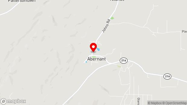 Google Map of Abernant, AL 35440