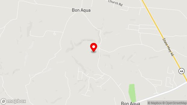 Google Map of 9347 Old Highway 46, Bon Aqua, TN 37025