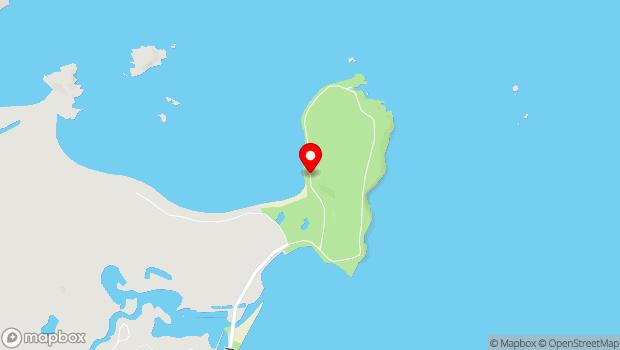 Google Map of Peter White Drive, Marquette, MI 49855