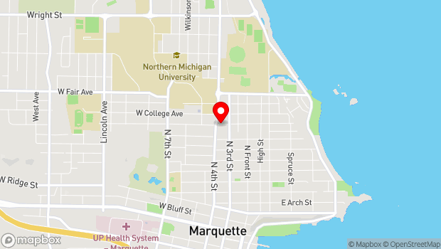 Google Map of 305 West Magnetic, Marquette, MI 49855