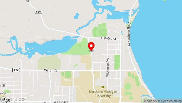 Google Map of 2145 Sugarloaf Avenue, Marquette, MI 49855