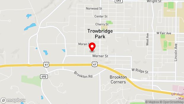 Google Map of Diorite, Marquette Township, MI 49855