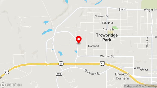 Google Map of 1000 Commerce Drive, Marquette Township, MI 49855