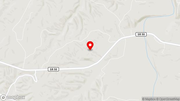 Google Map of 2119 Highway 50 West Loop, Centerville, TN 37033