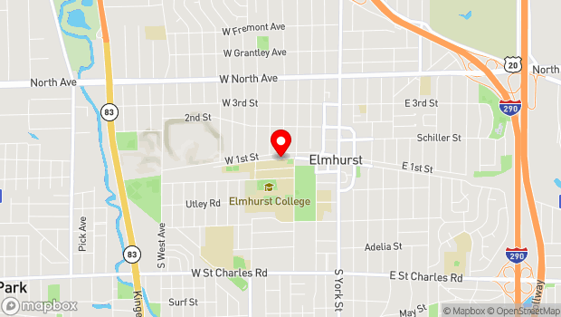 Google Map of 200 Block of West Park Street, Elmhurst, IL 60126
