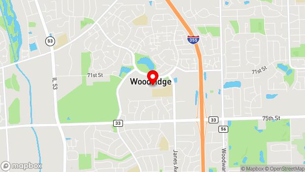 Google Map of 3 Plaza Drive, Woodridge, IL 60517