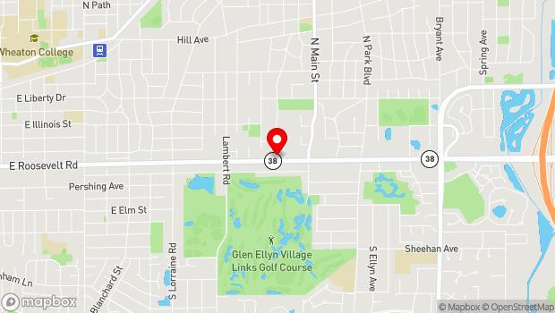 Google Map of 440 Roosevelt Road, Glen Ellyn, IL 60137
