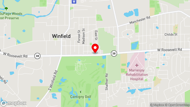 Google Map of 27W150 Roosevelt Road, Winfield, IL 60190