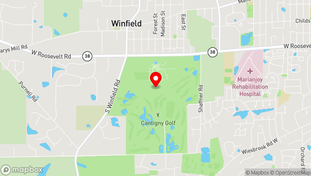 Google Map of 1S151 Winfield Road, Wheaton, IL 60189