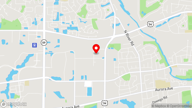 Google Map of 1665 Quincy Avenue, Suite 131, Naperville, IL 60540