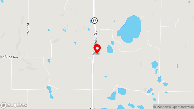 Google Map of 1998 A Highway 87, St. Croix Falls, WI 54024