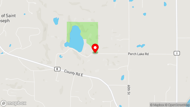 Google Map of 550 Perch Lake Road, Hudson, WI 54016