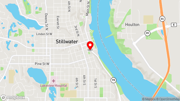 Google Map of 324 South Main Street, Stillwater, MN 55082