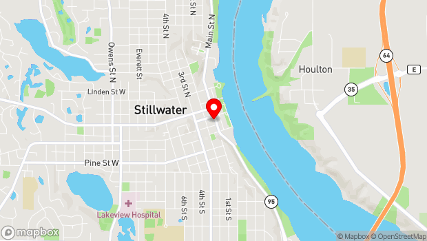 Google Map of 214 Main Street South , Stillwater, MN 55082