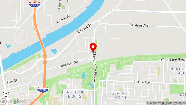 Google Map of 2715 Rochester, Kansas City, MO 64120