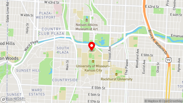 Google Map of 4949 Cherry Street, Kansas City, MO 64110