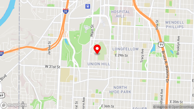 Google Map of 2450 Grand Ave., Ste. 144, Kansas City, MO 64108
