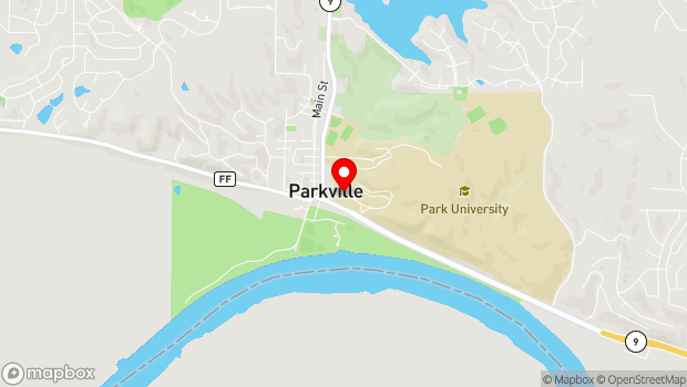 Google Map of 8700 NW River Park Drive, Kansas City, MO 64152