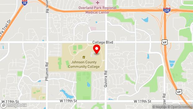 Google Map of 12345 College Blvd, Overland Park, KS 66210