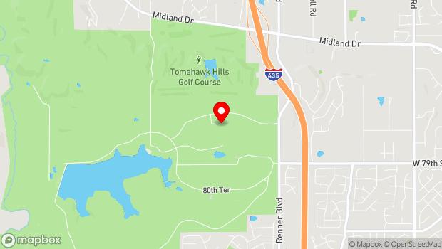 Google Map of 7710 Renner Road, Shawnee, KS 66217