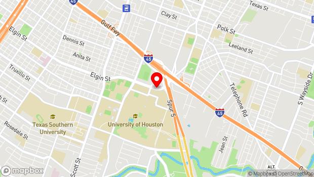 Google Map of 4173 Elgin Street, Room 120 , Houston, TX 77204-4018