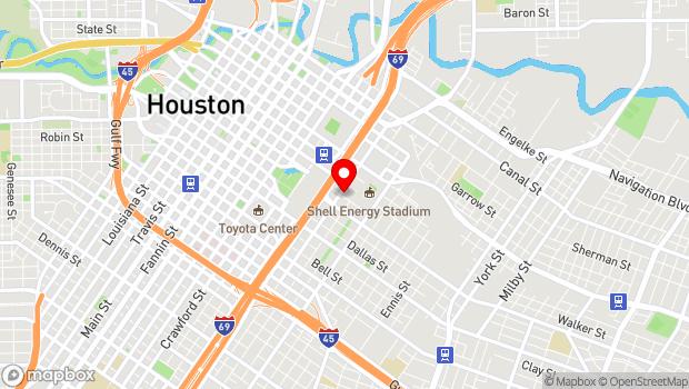 Google Map of 813 Saint Emanuel, Houston, TX 77003